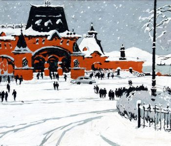 Борис Лобас. Первый снег