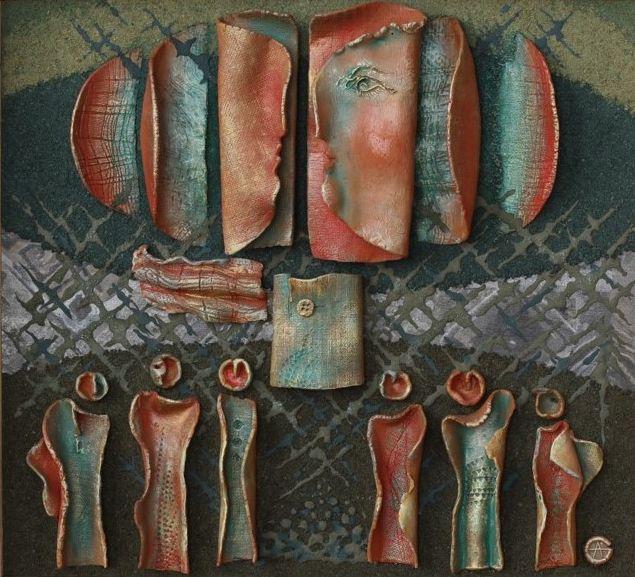 Выставка работ Алексея Пантелеевича Онуфриенко